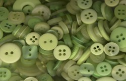 spring green buttons