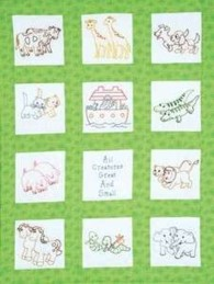 Pre Stamped Embroidery Projects